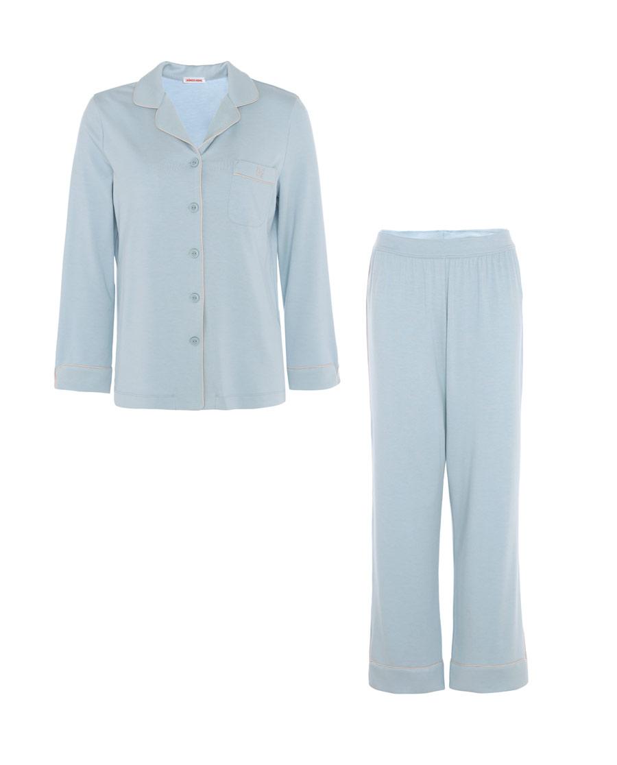 Aimer Home睡衣|愛慕家品牛奶生活Ⅱ長袖長褲分身家居套裝A