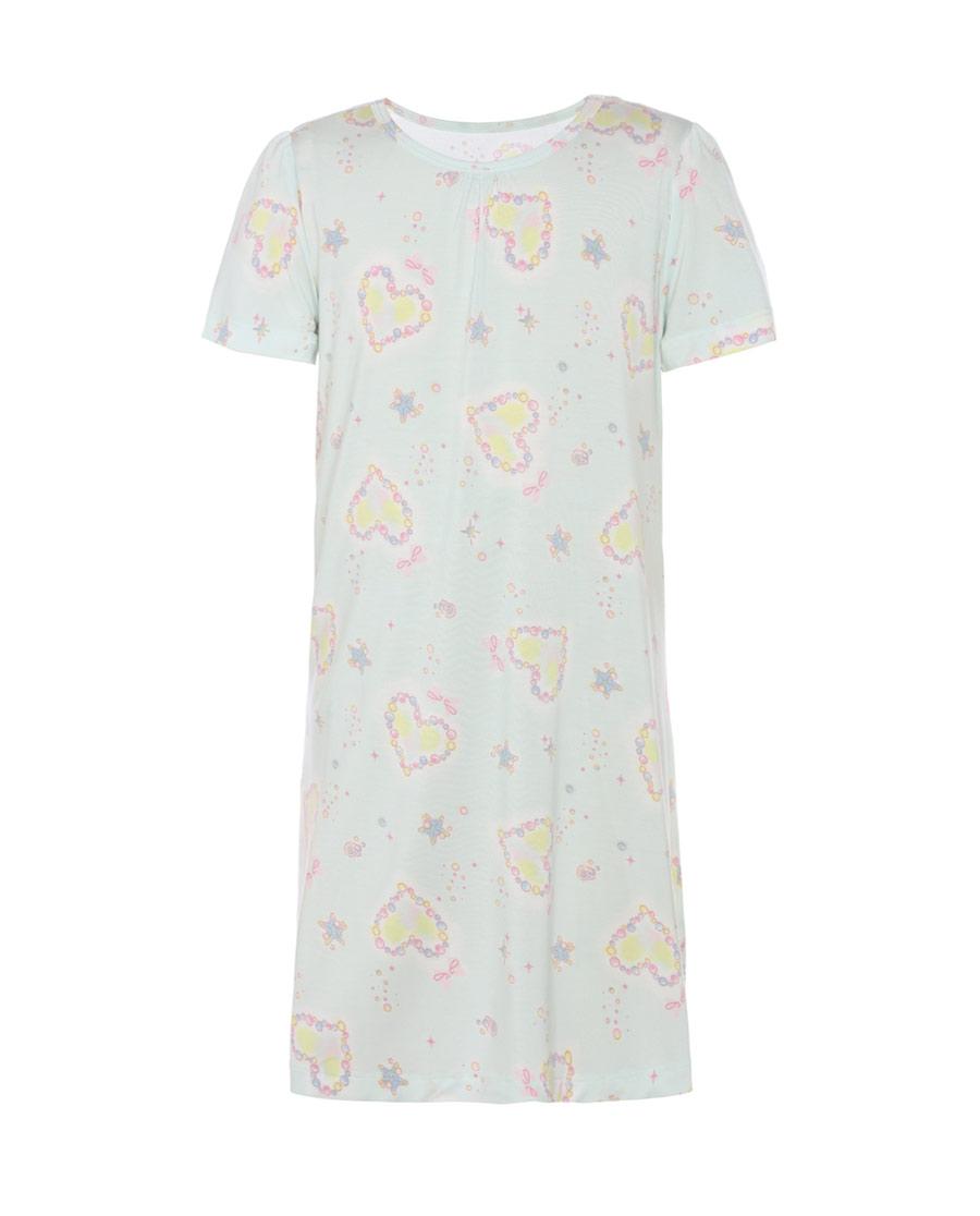 Aimer Kids睡衣|愛慕兒童珍珠樂園短袖睡裙AK144125