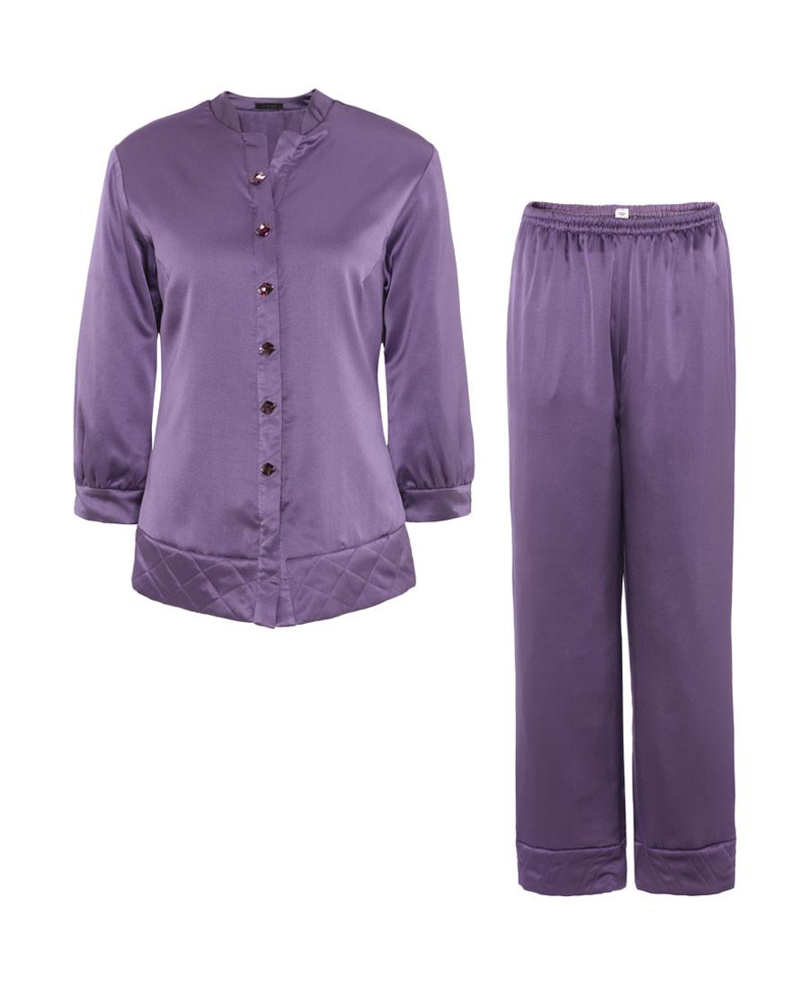 La Clover睡衣|LA CLOVER兰卡文香馨百合系列夹棉