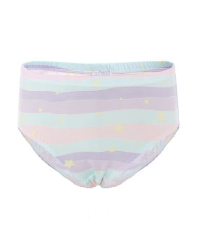 Aimer Kids内裤|爱慕儿童天使小裤MODAL印花女童梦幻星中腰三角裤AK1222812
