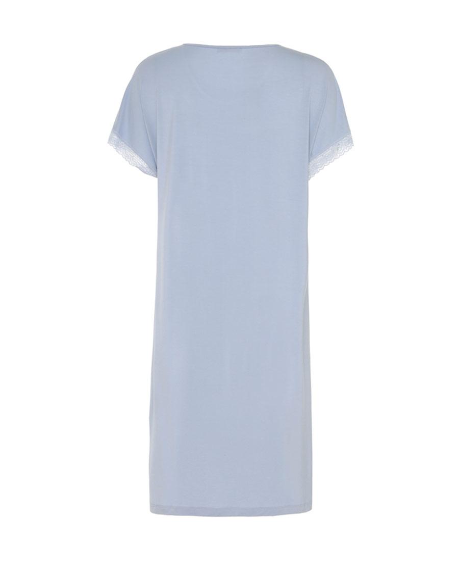 Aimer Home睡衣|爱慕家居漫步樱花短袖中长睡裙AH440851