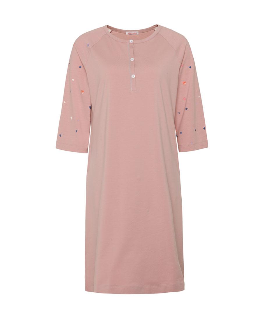 Aimer Home睡衣|爱慕家品心语七分袖中长睡裙AH44083
