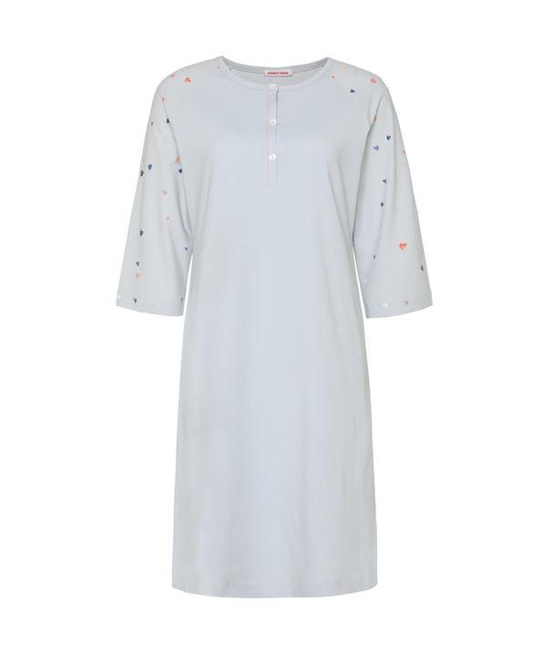 Aimer Home睡衣 爱慕家品心语七分袖中长睡裙AH440831