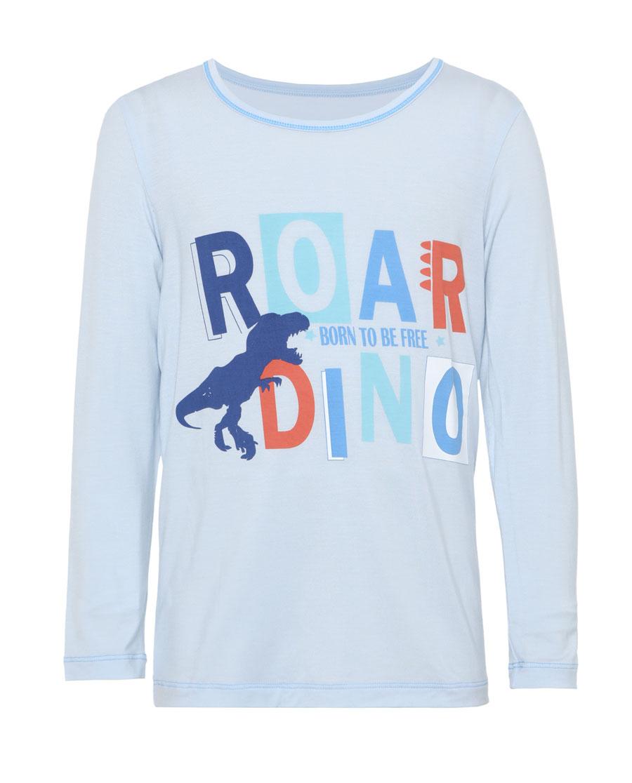 爱慕儿童滑板恐龙男童套头长袖睡衣AK2412891