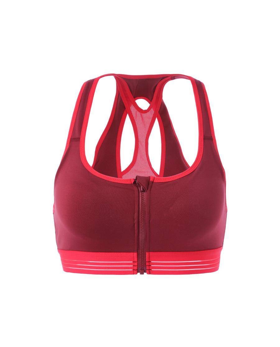 Aimer Sports文胸|愛慕運動熱力健身II中強度前拉鏈背心式文
