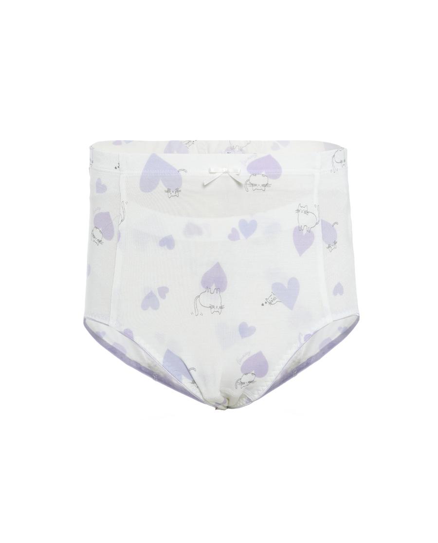 Aimer Junior內褲|愛慕少女軟萌心高腰生理褲AJ122276
