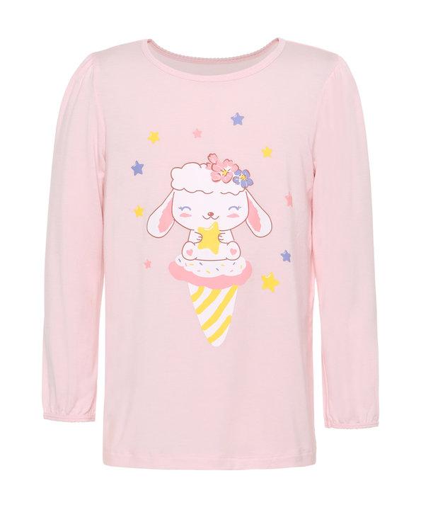 Aimer Kids睡衣|爱慕儿童乖乖羊女童套头长袖睡衣AK1412871