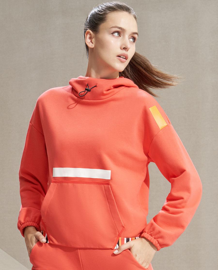 Aimer Sports睡衣|愛慕運動熱力新春帶帽套頭衛衣AS144J