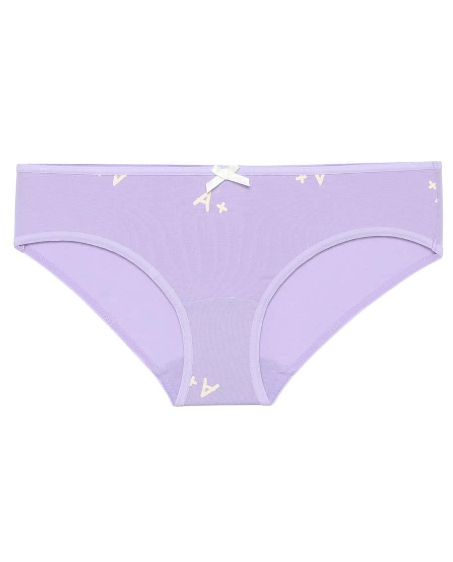 IMIS內褲|愛美麗印花三聯包 3件裝幸運符印花低腰平