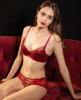 LA CLOVER兰卡文19AW挚爱red系列低腰三角裤LC22JW1