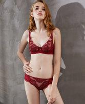 LA CLOVER兰卡文粉红爱丽系列中腰平角裤LC23LQ1
