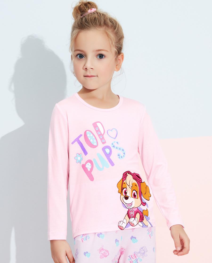 Aimer Kids睡衣|愛慕兒童天使背心modal汪汪隊女童幻影