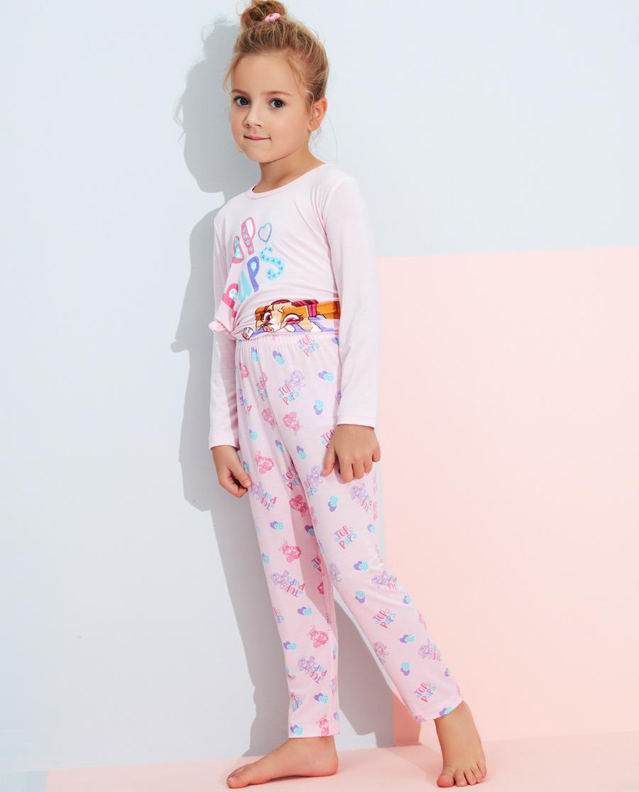 Aimer Kids睡衣|愛慕兒童汪汪隊幻影天天女童長睡褲AK14