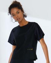 爱美丽运动字母狂欢短袖露背T恤IM63AXL1