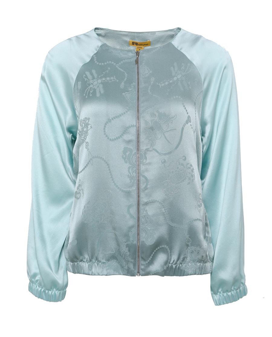 EMPERORIENT睡衣|皇錦萬壽緞夾克上衣HJ21258