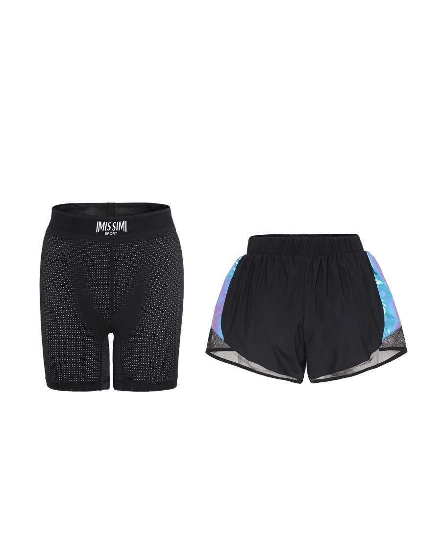 IMIS運動裝|愛美麗運動未來主義 中腰運動短褲IM64