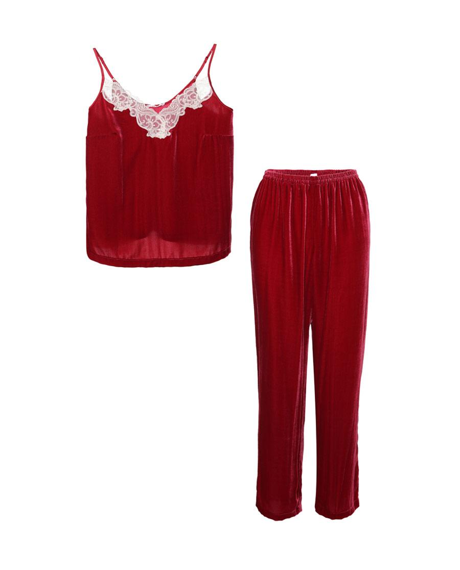 Aimer睡衣|愛慕瑰麗小吊衣+長褲AM434341