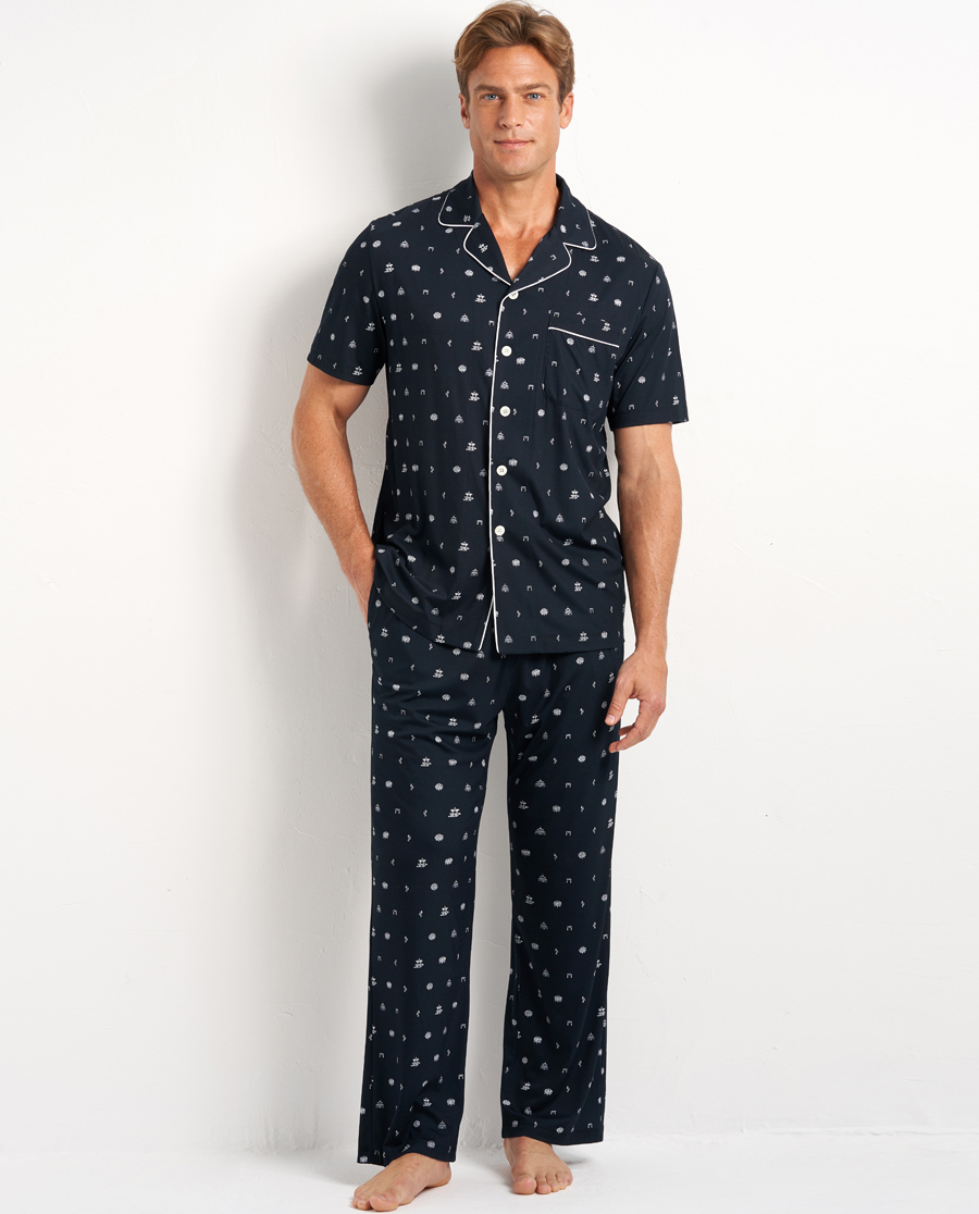 Aimer Men睡衣|爱慕先生20SS纵享丝滑家居长裤NS42