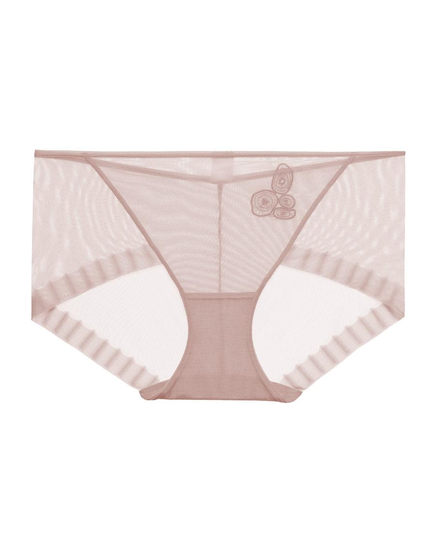 Aimer內褲|愛慕20SS裸感中腰平角褲AM23413