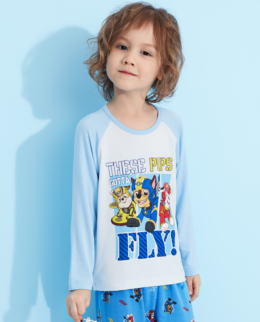 Aimer Kids睡衣|愛慕兒童汪汪隊機動戰士套頭長袖睡衣AK2