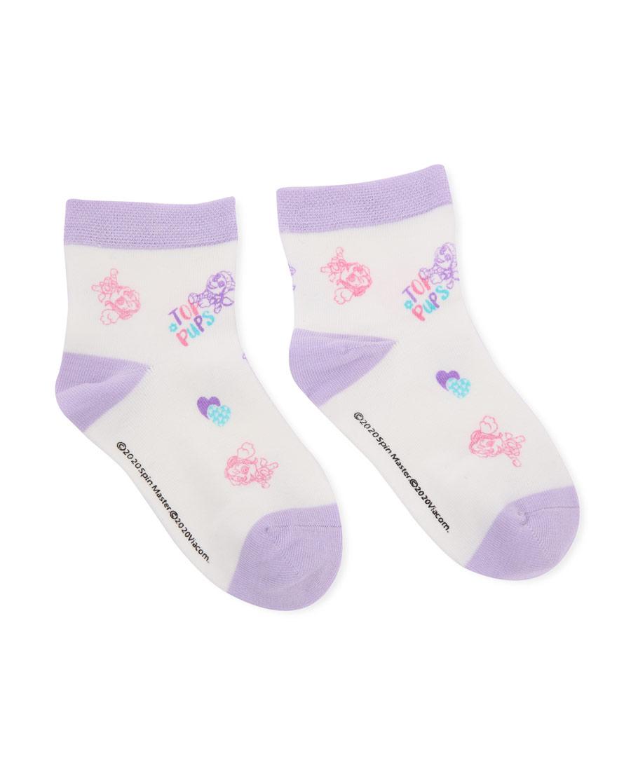 Aimer Kids襪子|愛慕兒童汪汪隊襪子女童幻影天天短襪AK1