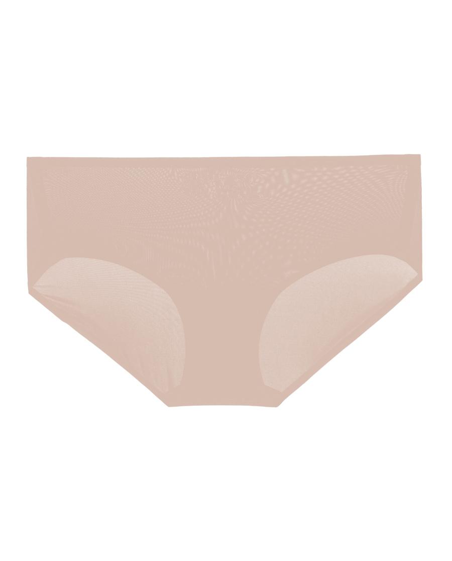 Aimer内裤|爱慕丝滑纯光中腰平角裤AM234361