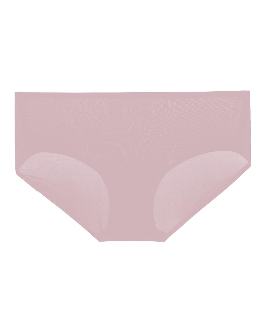Aimer内裤 爱慕丝滑纯光中腰平角裤AM234361