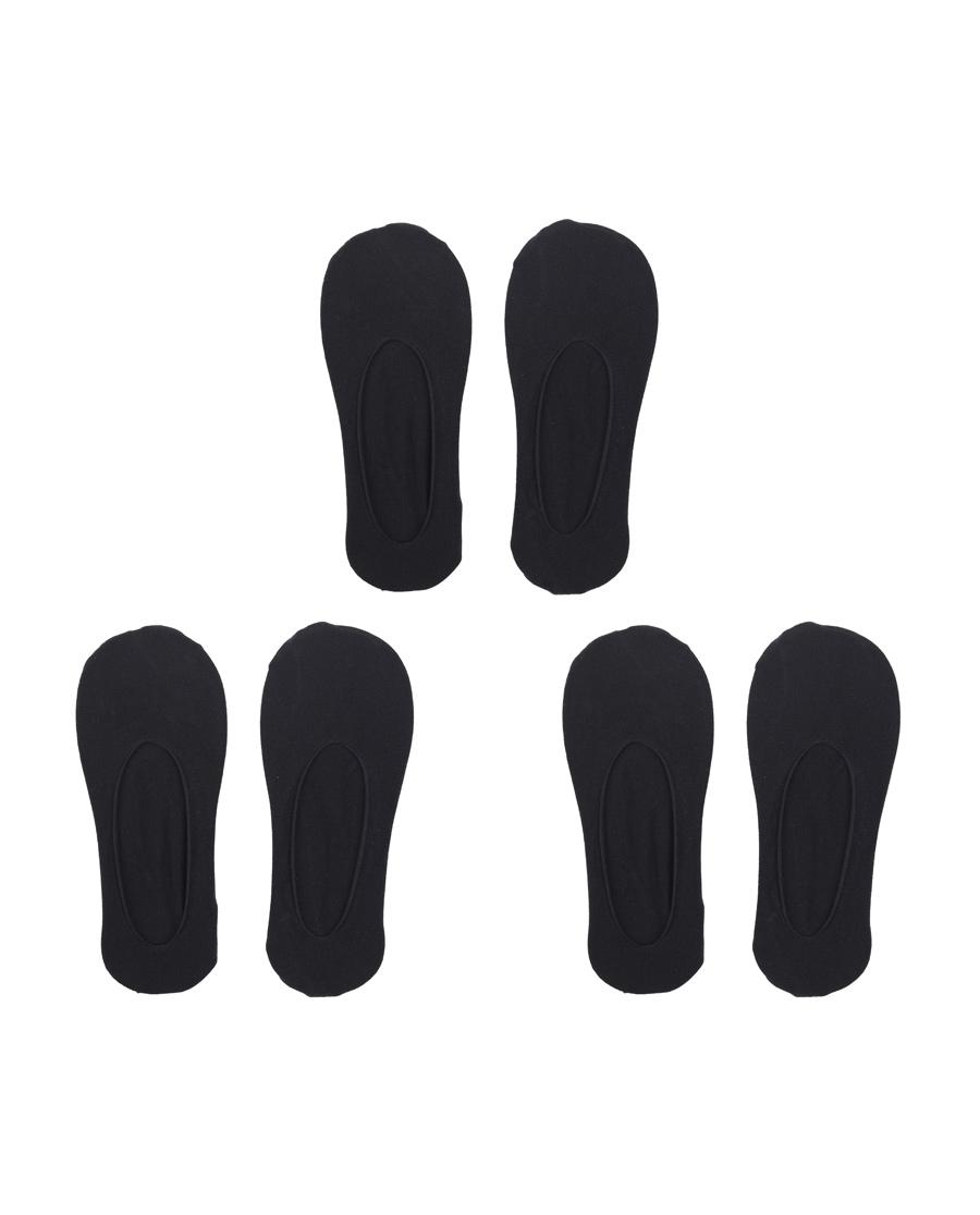Aimer襪子|愛慕(3件包)皮膚襪網眼女襪AM9439