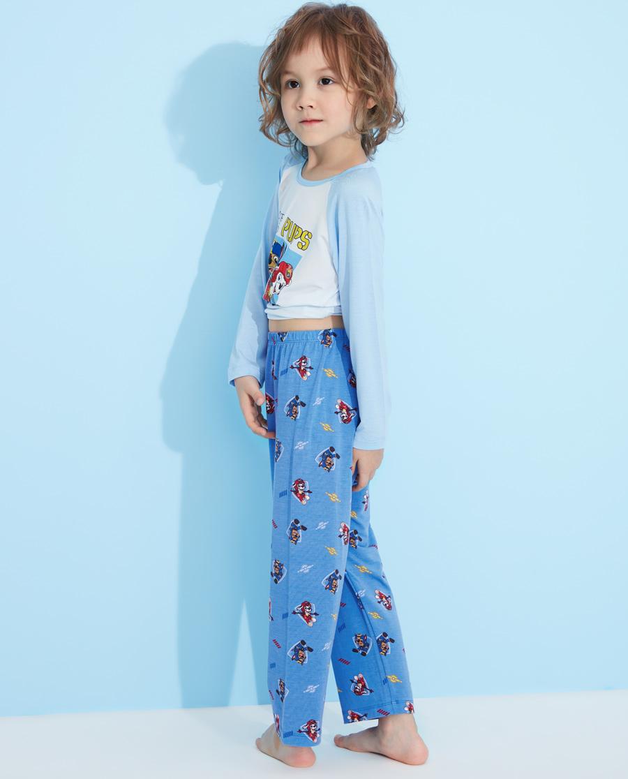 Aimer Kids睡衣|爱慕儿童睡裤汪汪队机动战士男童男孩家居服裤子长睡裤AK2423381