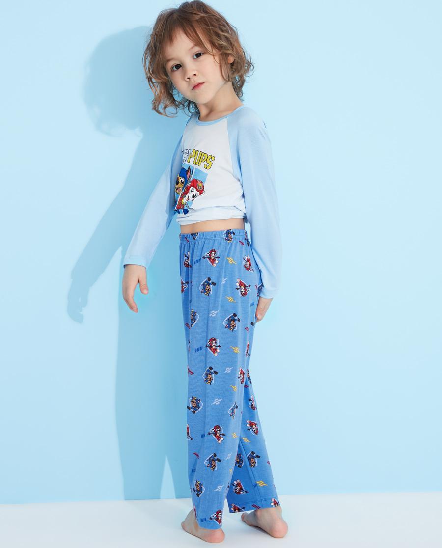 Aimer Kids睡衣|愛慕兒童汪汪隊機動戰士七分睡褲AK242