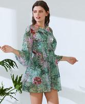 爱美丽泳衣热带风潮沙滩裙IM63AXA1