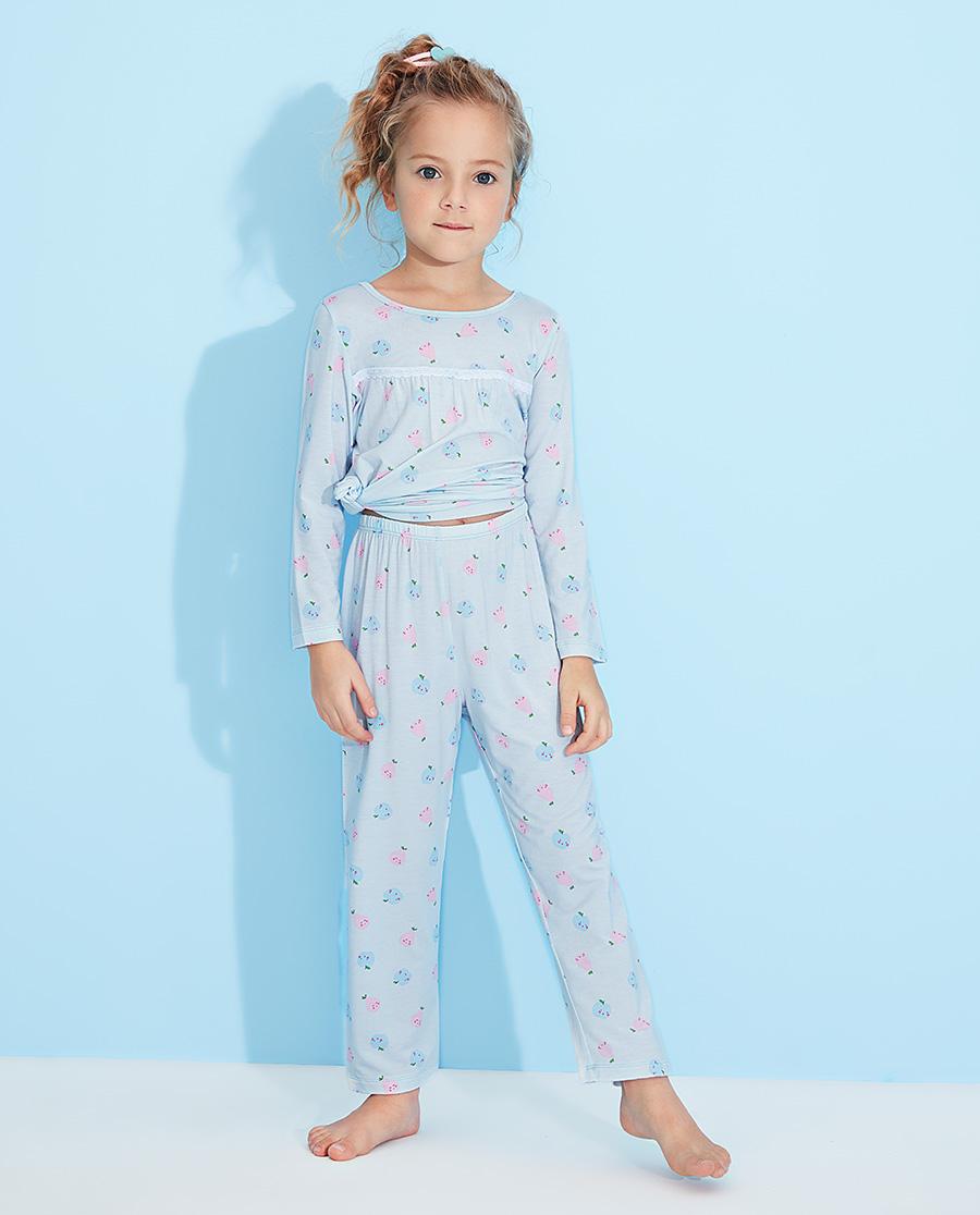 Aimer Kids睡衣|爱慕儿童果香物语女孩长睡裤AK1422881