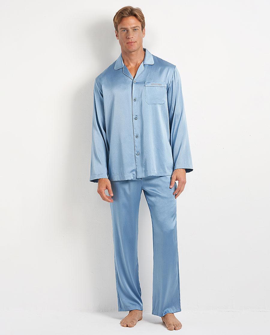 Aimer Men睡衣|爱慕先生真丝烫钻家居长裤NS42D721