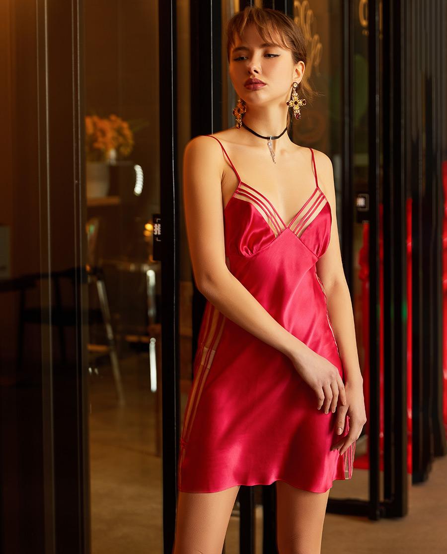 LUNA DI SETA睡衣|Luna di seta浓情丝滑系列吊裙