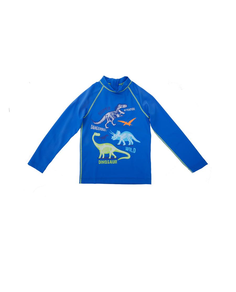 Aimer Kids泳衣|爱慕儿童恐龙家族长袖泳衣AK267321
