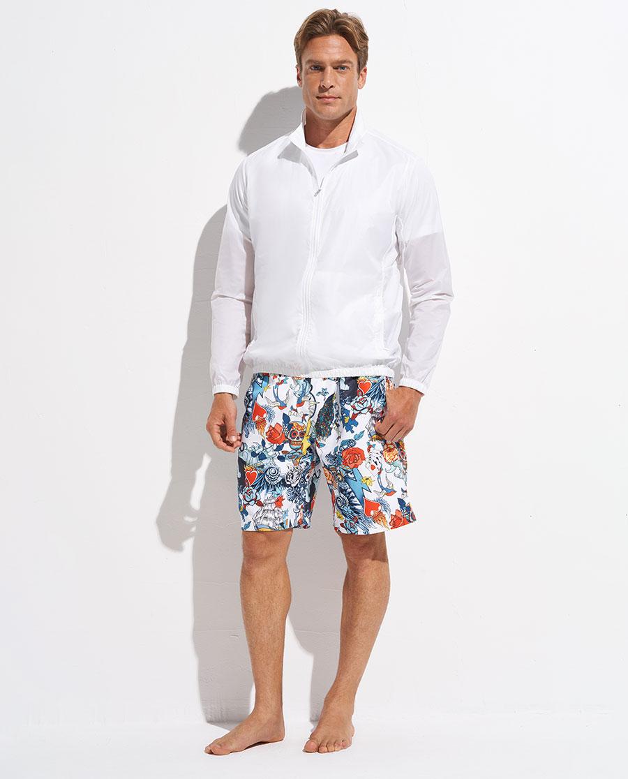 Aimer Men睡衣|愛慕先生度假系列立領開衫拉鏈長袖NS81