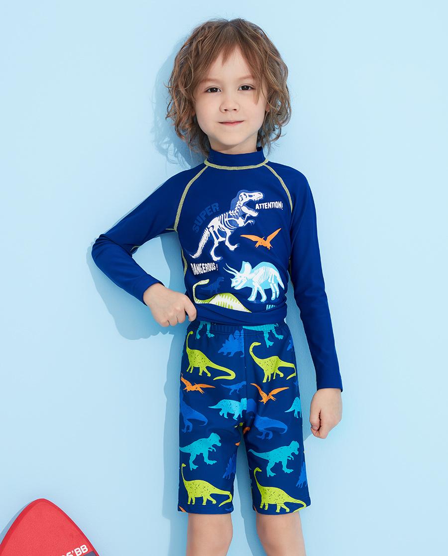Aimer Kids泳衣|爱慕儿童恐龙家族五分泳裤AK267321