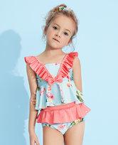 爱慕儿童2件装 怡情火烈鸟分身泳衣AK1673203