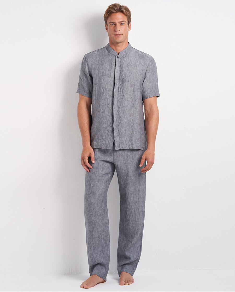 Aimer Men睡衣|爱慕先生休闲亚麻长裤NS82D612