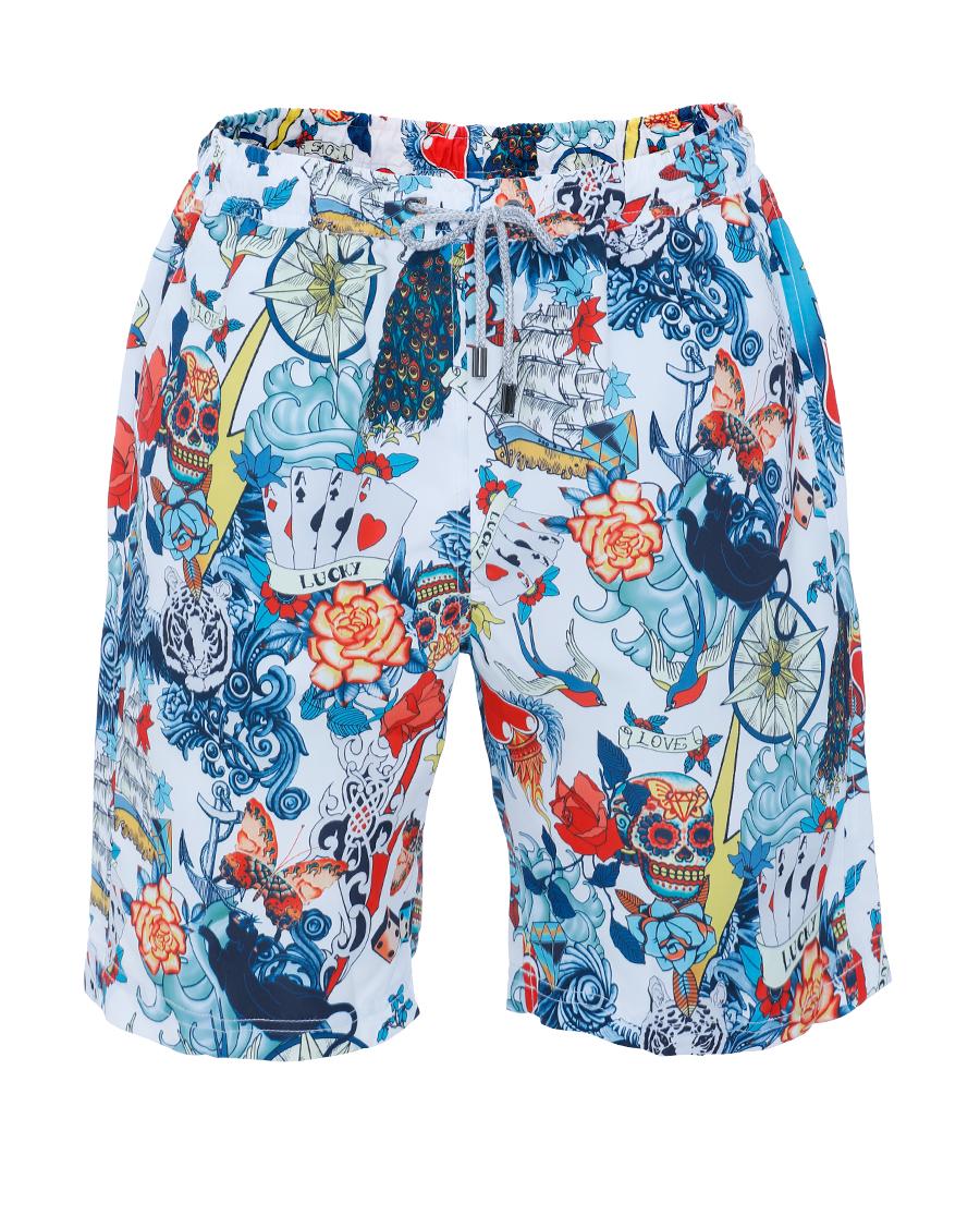 Aimer Men泳衣|愛慕先生炫酷沙灘短褲NS66D972