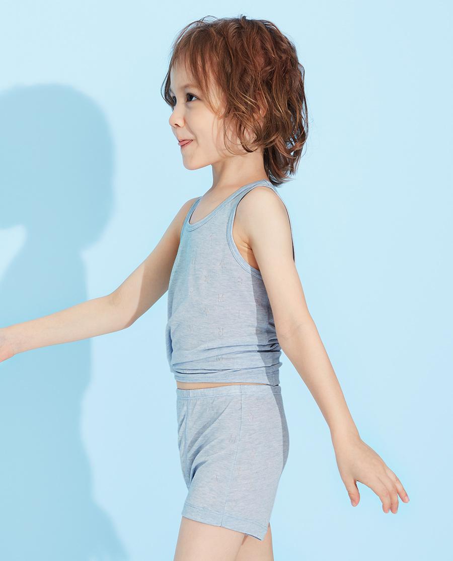 Aimer Kids內褲|愛慕兒童植物涼爽中腰平角褲AK22325