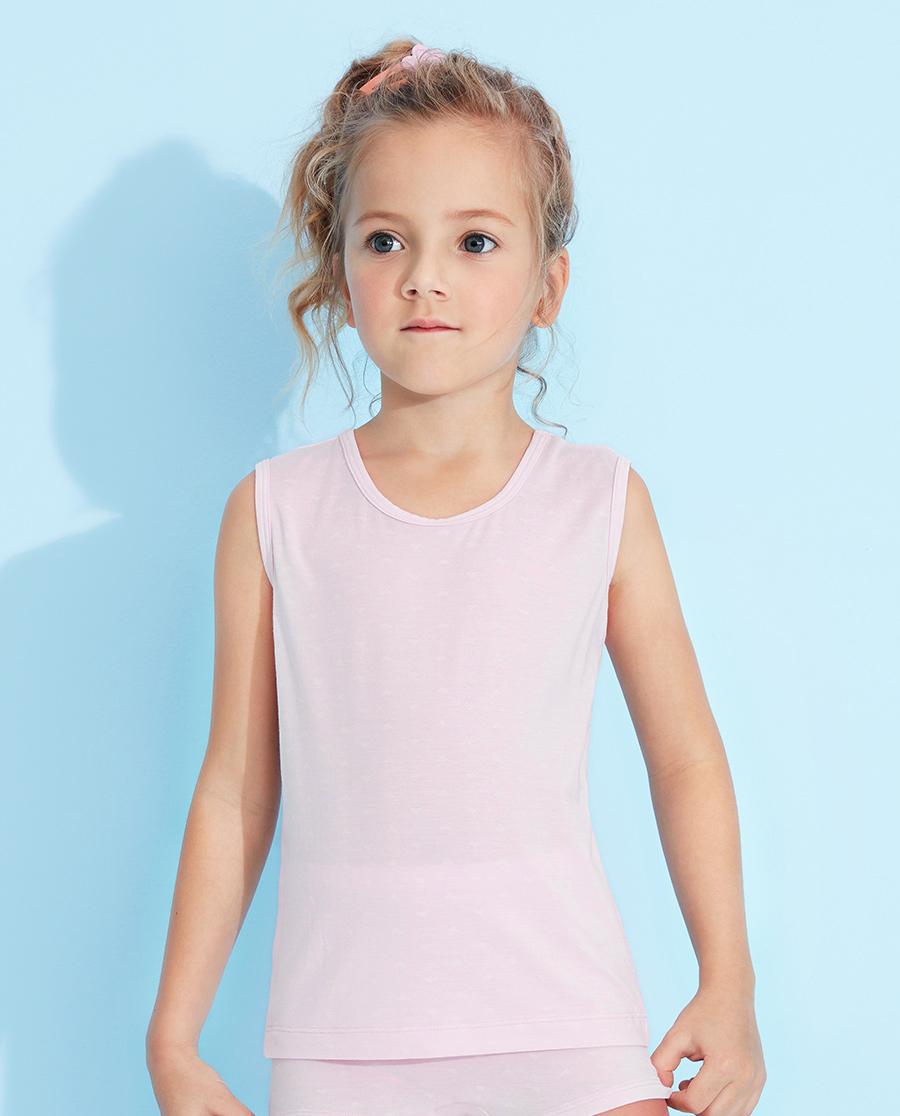 Aimer Kids睡衣|愛慕兒童絲滑小三角寬肩背心AK11127