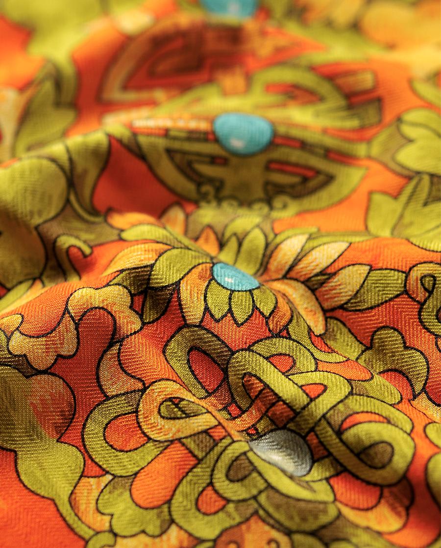 EMPERORIENT配飾|印花方巾-珠光寶氣HL31064
