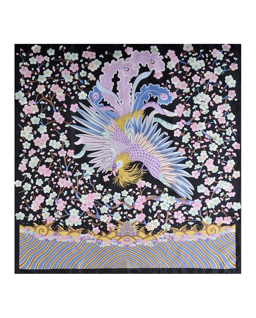 EMPERORIENT配飾|印花方巾-梅花大鳳HL31001