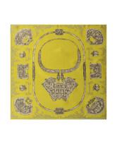 印花大方巾-璀璨银锁HL31061