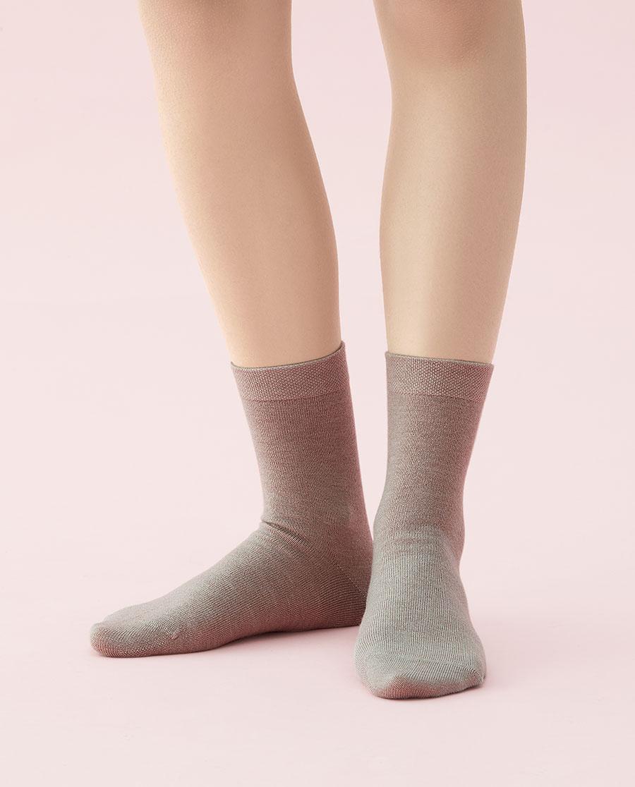 JOURVA襪子|足哇柔情暖冬女士羊毛短筒襪JV11104