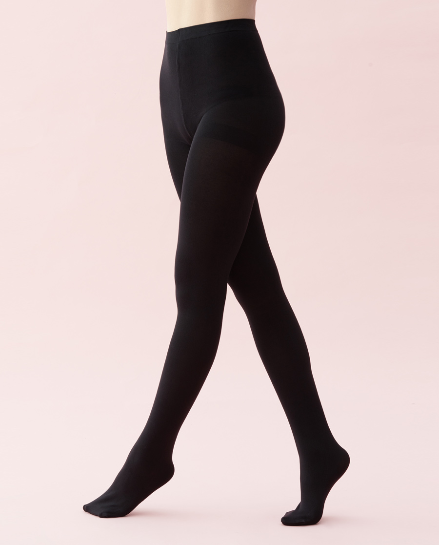 JOURVA襪子|足哇柔暖心意(2雙裝)110D連褲襪JV
