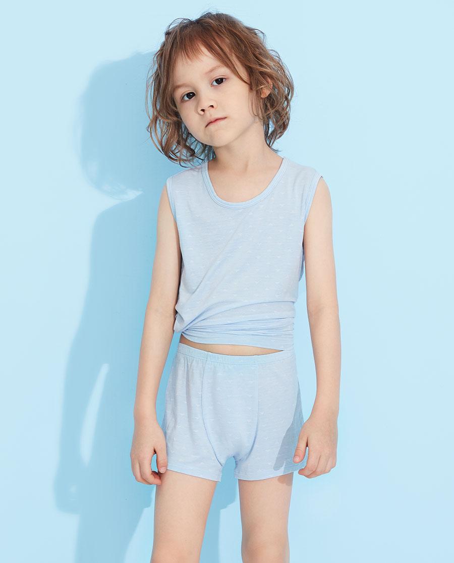 Aimer Kids內褲|愛慕兒童絲滑小三角中腰平角褲AK2232