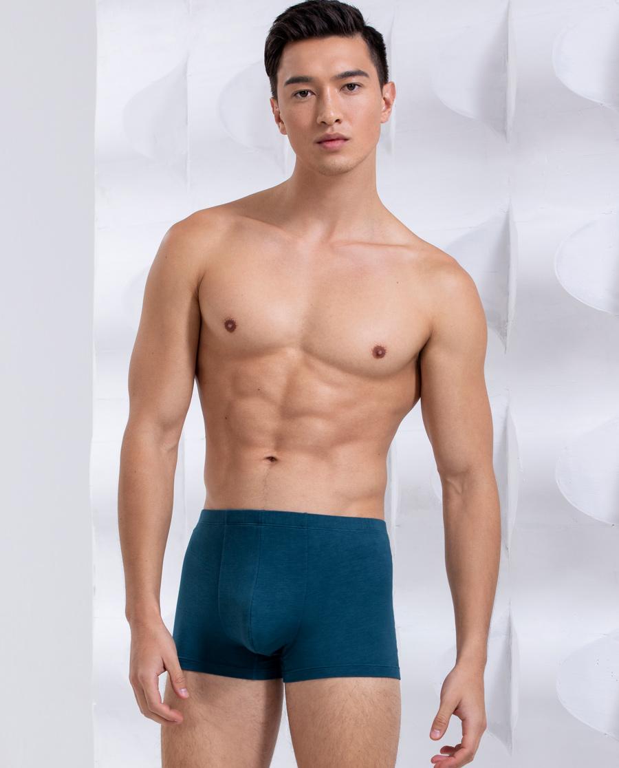 Body Wild内裤|宝迪威德莫代尔基础 包腰平角裤ZBN23