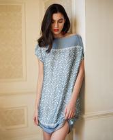 Le Chat秘境奇遇系列短袖睡裙LEEM840